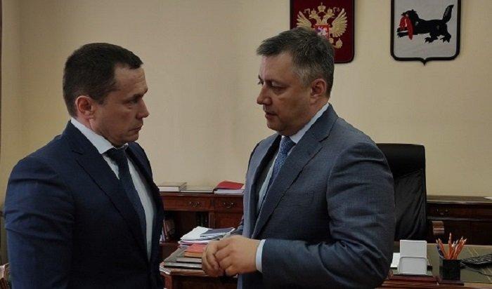Мэр Иркутска Дмитрий Бердников ушел наповышение вправительство Приангарья