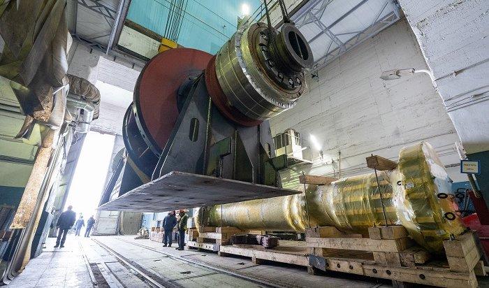 Ксборке нового гидроагрегата приступили наИркутской ГЭС (Видео)