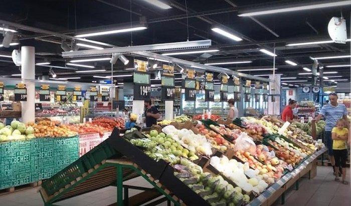 Виркутском гипермаркете «Лента» ввели ограничение напродажу сахара, овощей, картофеля илимонов