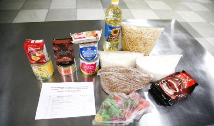 Иркутские школьники начнут получать с13апреля сухпайки сгречкой, макаронами ирыбными консервами