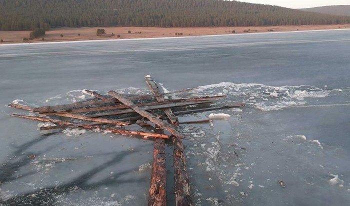 Пассажир «Нивы» погиб, провалившись под лед Братского водохранилища