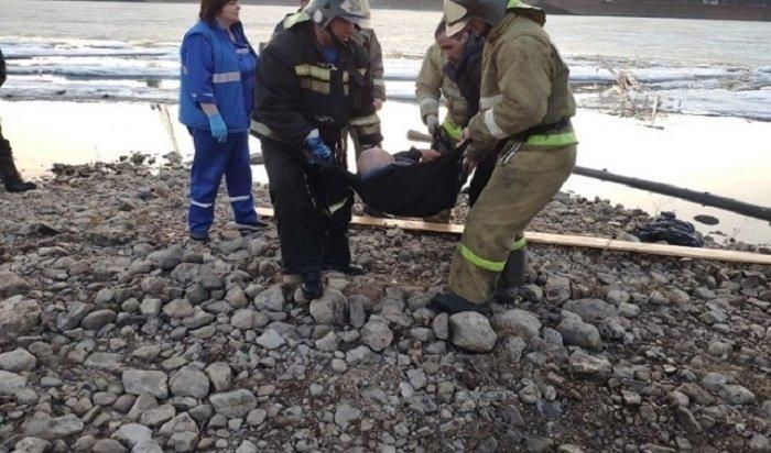 Еще один человек провалился под лед реки Лены вУсть-Куте