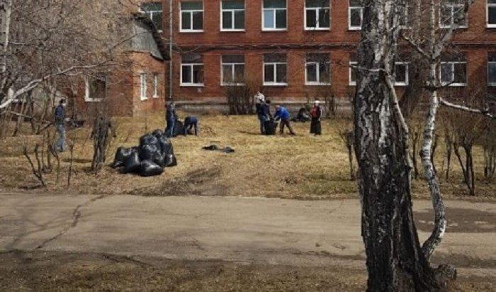 Улицы Иркутска убирают вкруглосуточном режиме