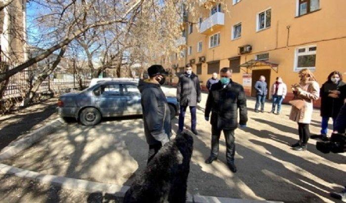 ВИркутске благоустроят 63двора вэтом году