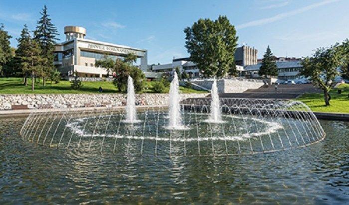 ВИркутске готовят кзапуску фонтаны