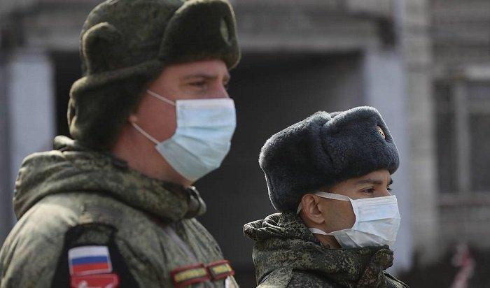 ВМинобороны сообщили опочти 900заразившихся коронавирусной инфекцией военных