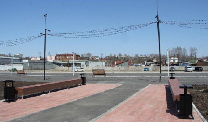 Благоустройство набережной реки Ушаковки планируют завершить к1сентября