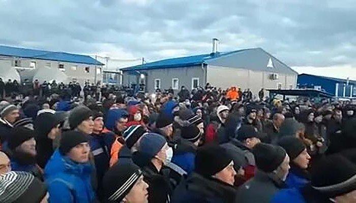 Набазе «Газпрома» для «Силы Сибири» рабочие устроили бунт