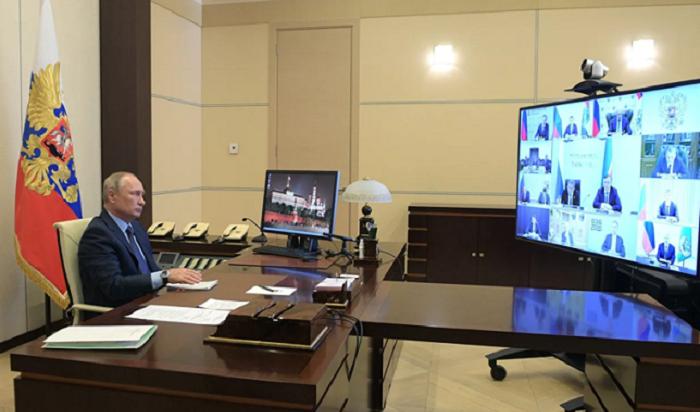 Путин продлил режим самоизоляции до11мая (Видео)