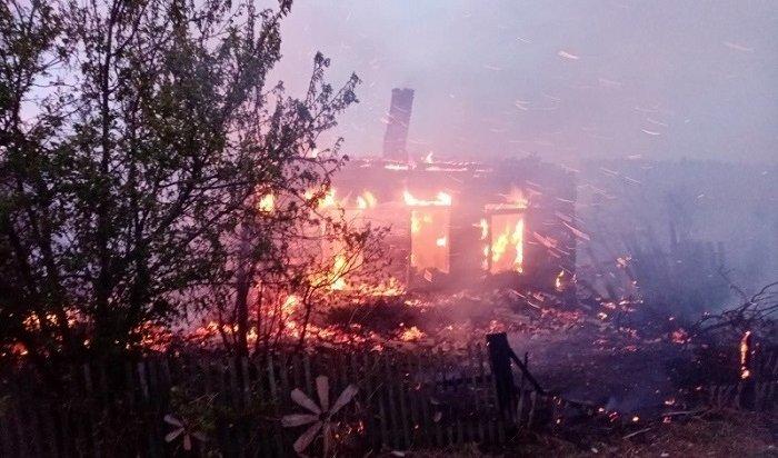 Двое мужчин погибли напожаре вАларском районе