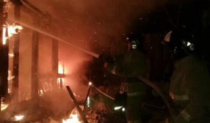 Два молодых человека погибли напожаре вИркутске
