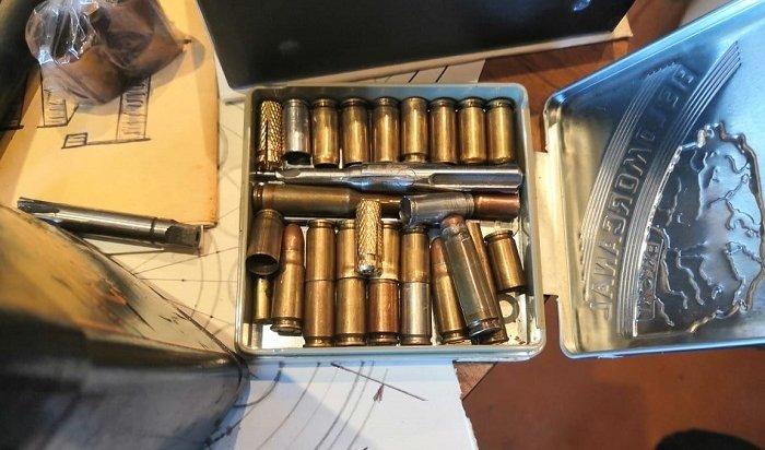 Оружие ибоеприпасы изъяли утроих братчан сотрудники ФСБ иМВД