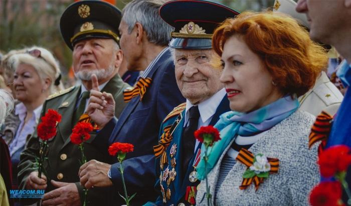 160участников войны отметят вИркутске День Победы