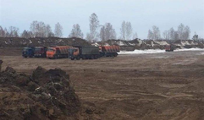 Мастер участка из-за рубежа украл песчано-гравийной смеси на19млн рублей вТайшетском районе