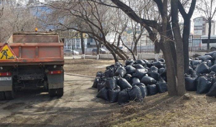 Более 120несанкционированных свалок ликвидировали вИркутске