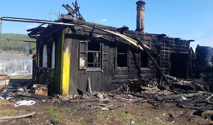 Семья пострадала напожаре вБольшом Луге