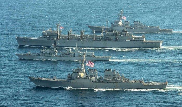 Группа военных кораблей НАТО появилась уграниц России вБаренцевом море