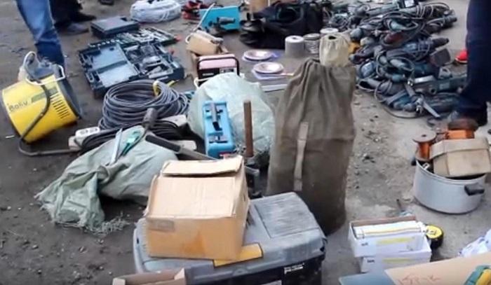Похитителей электроинструментов задержали вИркутске (Видео)