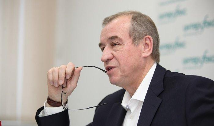 «Ведомости»: Левченко недопустят кновым выборам губернатора Иркутской области