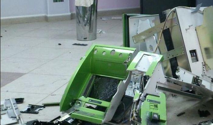 ВПодмосковье неизвестные взорвали банкомат Сбербанка (Видео)