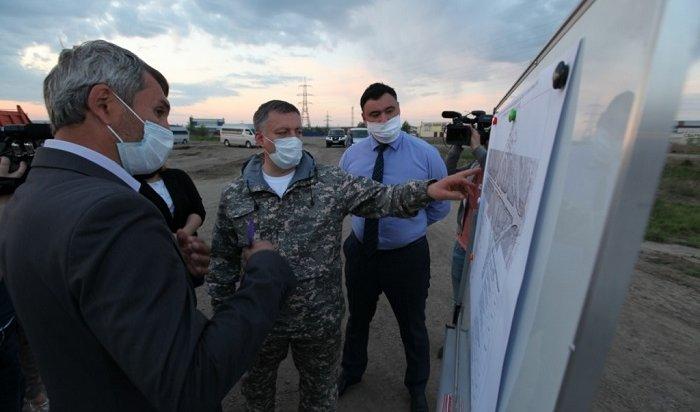 Участок объездной дороги вНово-Ленино отремонтируют доконца июня