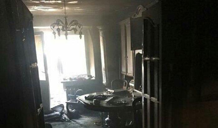 Два человека погибли напожаре вИркутске