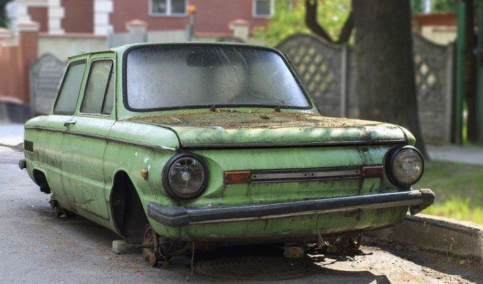 Штраф заброшенный автомобиль могут ввести вРоссии