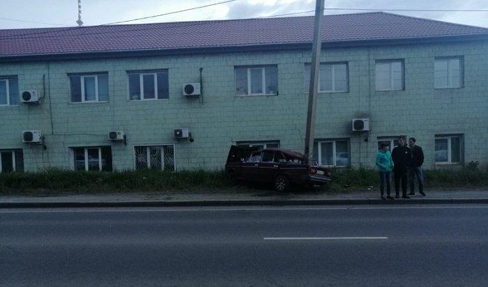 Пассажир ВАЗ 2106погиб вТулуне из-за пьяного водителя