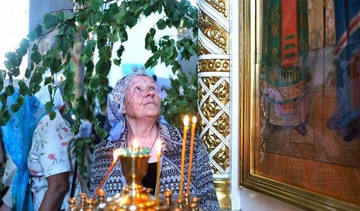День Святой Троицы празднуют православные христиане