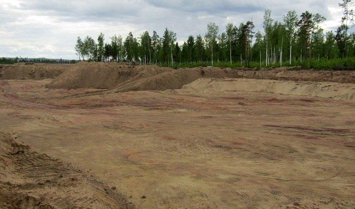 Бизнесмен незаконно добывал под Братском песок сгравием ипричинил ущерб природе на30млн рублей
