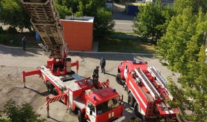 Возгорание произошло в старом корпусе Иркутского перинатального центра