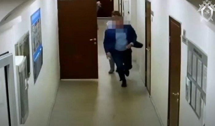 ВИркутске арестовали начальника департамента комитета городского обустройства администрации города (Видео)