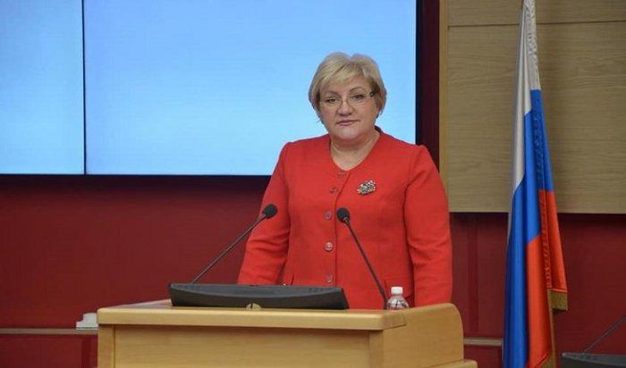 «Справедливая Россия» выдвинула Ларису Егорову кандидатом вгубернаторы Иркутской области