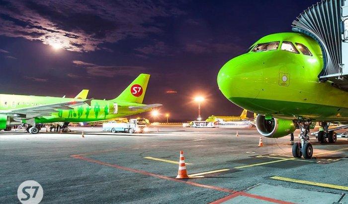Авиакомпания S7запустила рейс изИркутска вСочи
