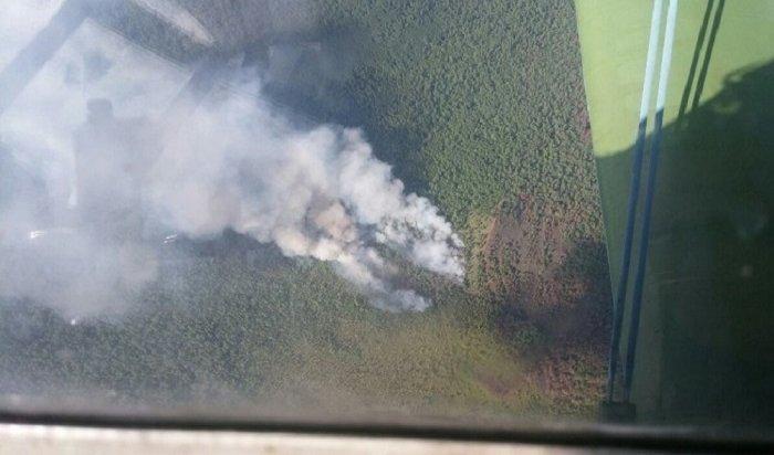 Тайга снова горит вИркутской области