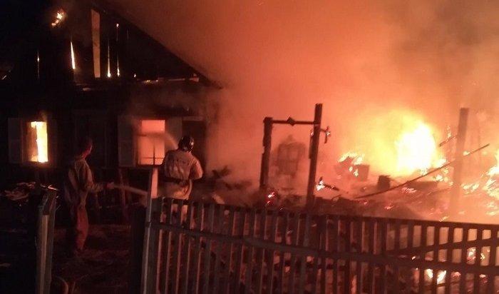 Два человека погибли напожарах вИркутской области