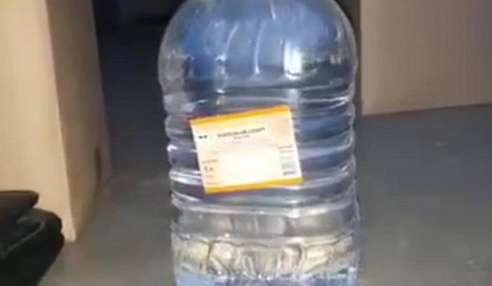 Полицейские пресекли незаконную поставку спирта вПриангарье (Видео)