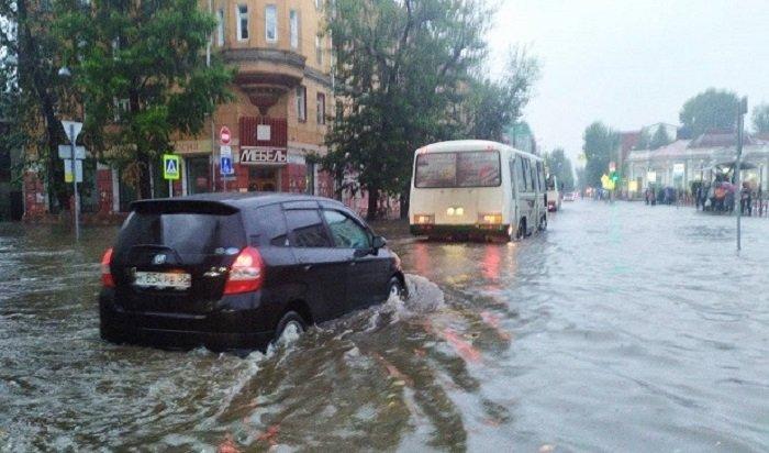 Ревизию ливневой канализации проведут вИркутске