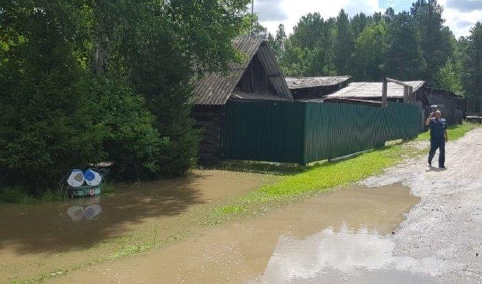 ВАнгарске затопило садоводство «Ясная Поляна» (Видео)