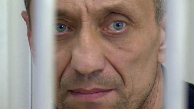 Ангарского маньяка Попкова снова этапировали вСИЗО Иркутска (Видео)