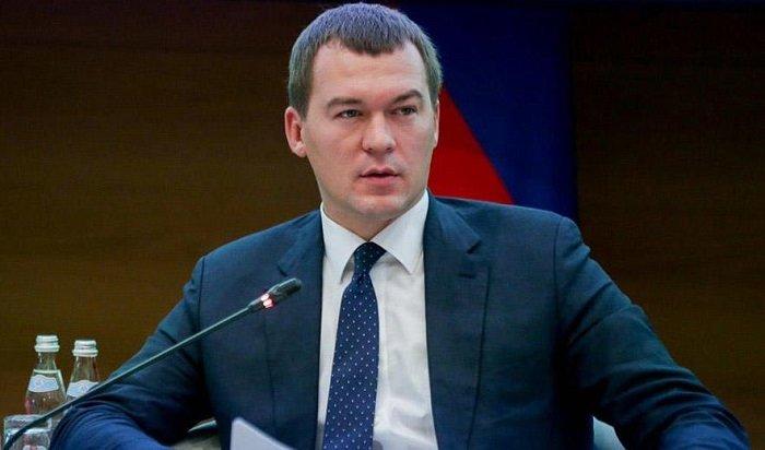 Путин назначил врио губернатора Хабаровского края (Видео)