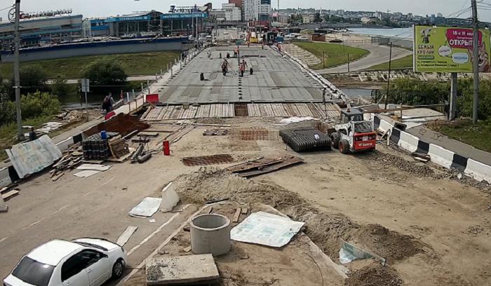 Иркутяне смогут круглосуточно следить заремонтом Ушаковского моста