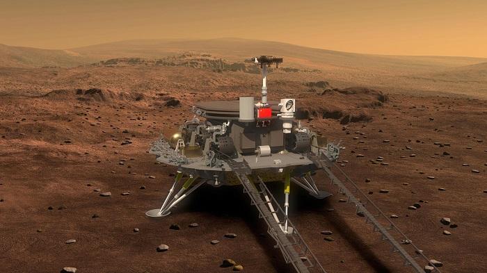 Китай запустил зонд для изучения Марса (Видео)
