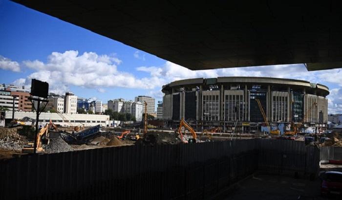 ВМоскве взрывают «Олимпийский» (Видео)