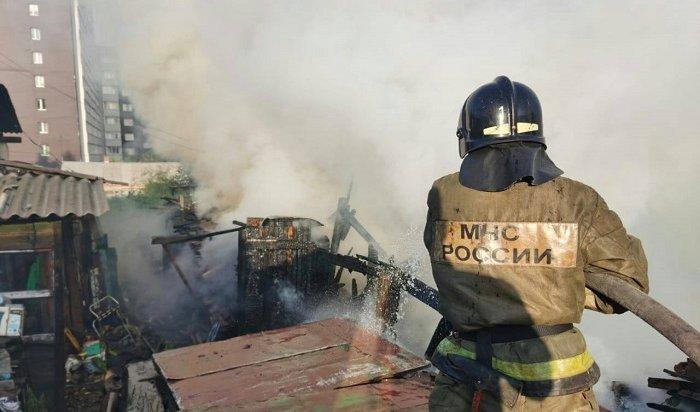 Спасатели потушили пожар вдоме наулице Лобачевского (Видео)