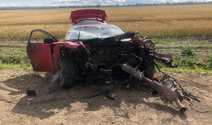 Два человека погибли при столкновении фуры синомаркой вУсольском районе