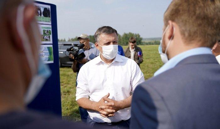 ВПриангарье началась сельскохозяйственная уборочная кампания