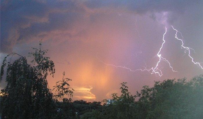 6-8августа вПриангарье прогнозируют опасные метеорологические явления
