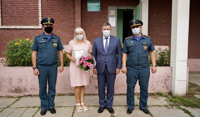 Игорь Кобзев предложил представить кнаграде Татьяну Пороеву, которая спасла впожаре соседского мальчика