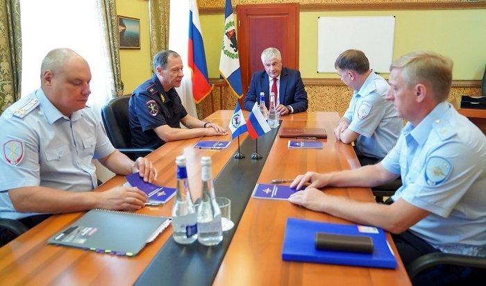 Министр внутренних дел России прибыл вИркутск